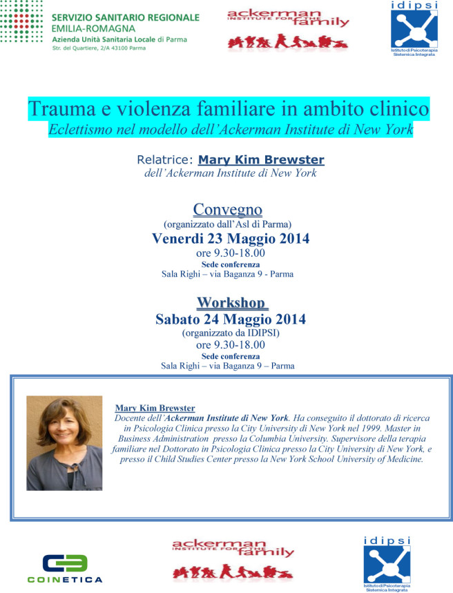 Convegno a Parma sul trauma e la violenza