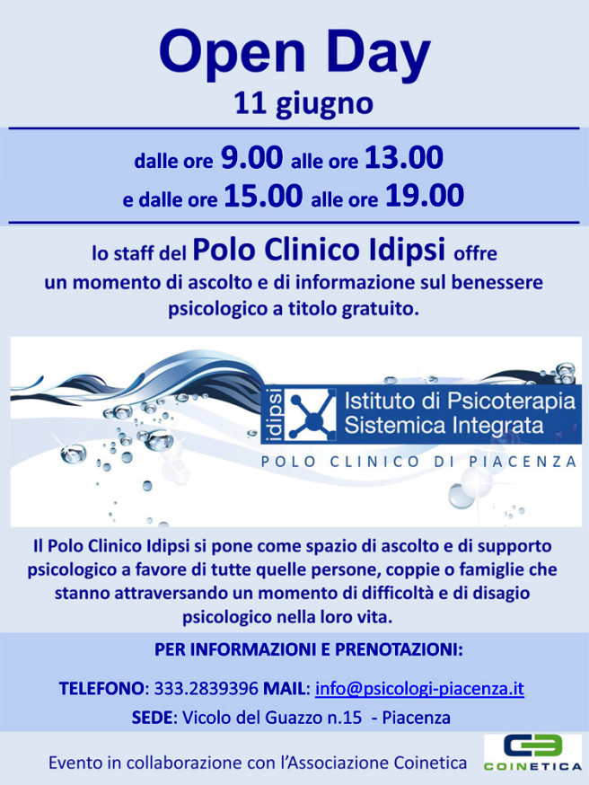 Open day polo idipsi piacenza
